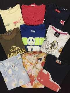 6-7yo Girls Tops/Shirts