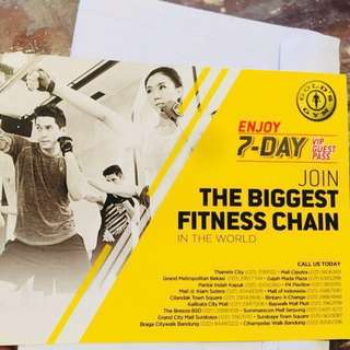 Fitness Gold's Gym reprice