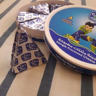 Nadec triangle cheese