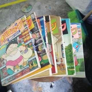 Japanese comics-7 units