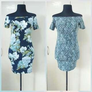 New Ladies Off-Shoulder Summer Dress