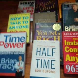 Self improvement books for quick sale