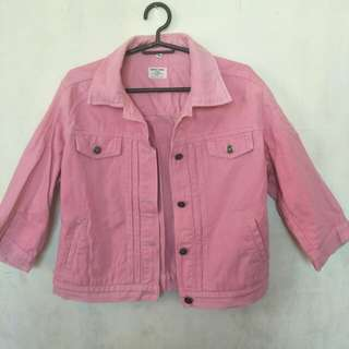 GAP Denim Pink Jacket
