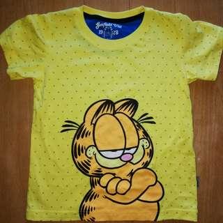 Prelovwd Garfield Tshirt size 4