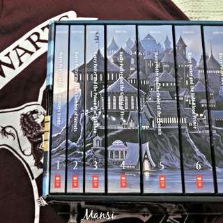 Boxset Novel Harry Potter Bahasa Inggris