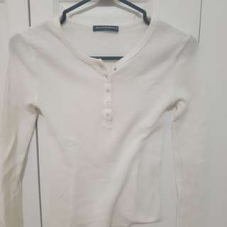 Brandy Melville Henley top