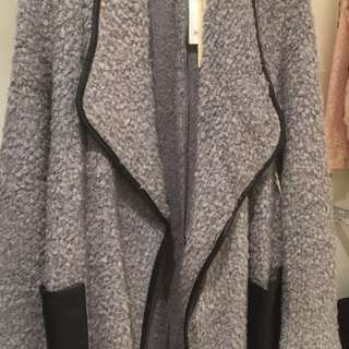 Stradivarius coat wool 100%ori new