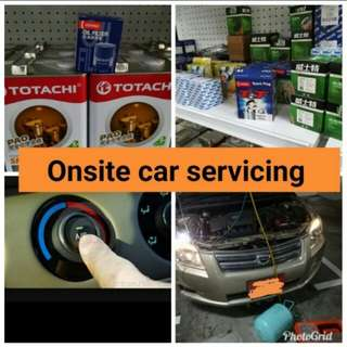 Hassle free onsite car servicing