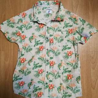 Preloved Gingersnaps Hawaiian Polo