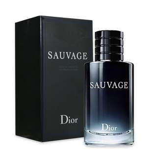 Christian Dior Sauvage EDT for Men (60ml/100ml/200ml) CD Savage Black