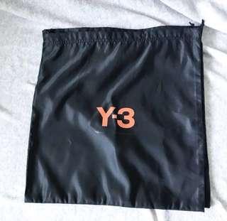 Y-3 dust bag