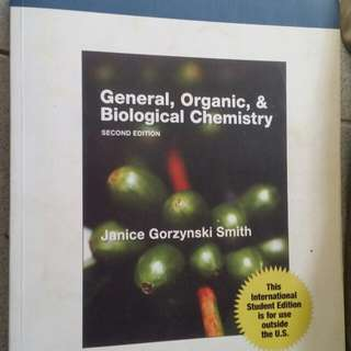 General, Organic, and Biological Chemisty book