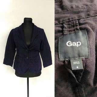 Blue violet blazer