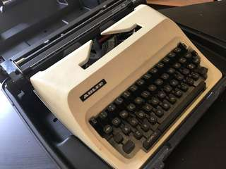 Antique type writer