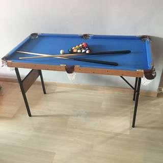Foldable Kids Pool Table