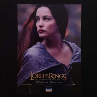 "Film Poster ""LOTR - Return Of The King"""