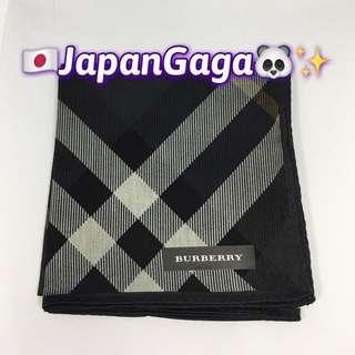 日本BURBERRY男士手巾 ~ 5號色 (附有日本正貨Burberry 包裝)(周末特價$178)