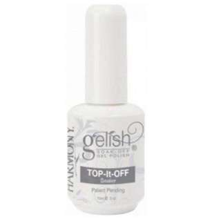 BN Brand New Harmony 100% Authentic Gelish Top It Off Nail Polish