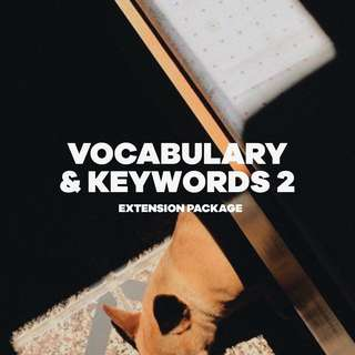 Extension Package - Vocab & Keywords 2 - GP Current Affairs Notes / GP Examples
