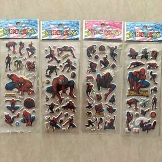 Spiderman Stickers (Buy 10 get 1 free)