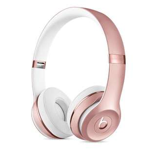 SPECIAL EDITION Rose Gold Beats Solo3 Wireless On-Ear Headphones