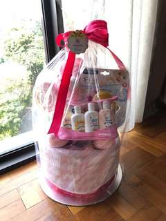 Hummings Baby Diaper Cake / Gift Hamper
