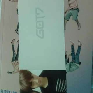 Got7 fly departure card