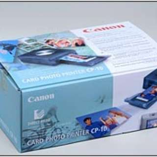 Canon Card Photo Printer (九成新) CP-10 (Include a color cartridge)