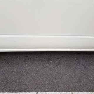 Hiace low roof  side skirt