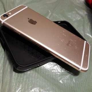 Iphone 6s 128gig factory unlock NTC gold