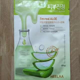 Sheet mask ( aloevera /aloe )