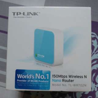 TP-Link TL-WR702N Wireless Router