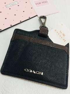 Coach Card Holder black colour
