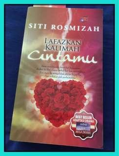Preloved novel Lafazkan Kalimah Cintamu