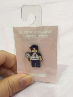 EXO Lego Block Figure pin - Baekhyun