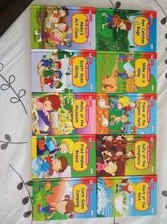 Books 1 set ten books