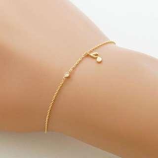 18k Diamond Bracelet (#1)