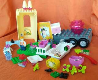 💯Original Lego set w/ 1 original Duplo 57 pcs + FREEBIE accesories for Lego