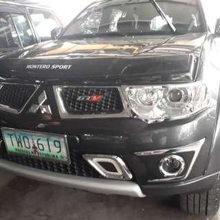 2012 Mitsubishi Montero Sports MT
