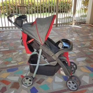 Pre-loved Baby Toddler Stroller Foldable