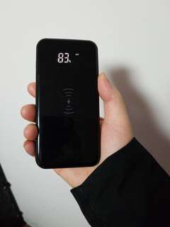 IPhone X wireless power bank fast charger