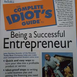 Being a Successful Entrepreneur
