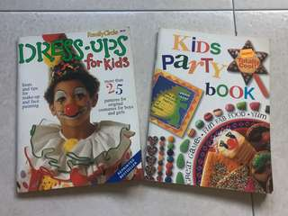 Craft n kids party books