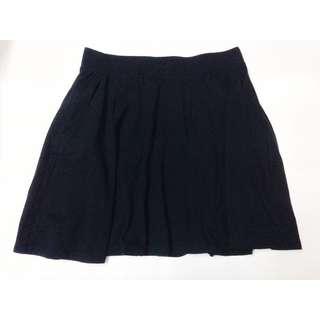 H&M Black Mini Skirt