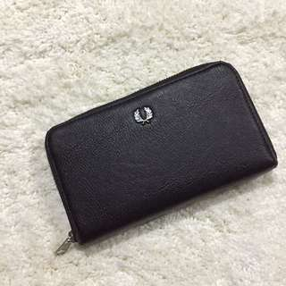 Authentic Fred Perry Long Wallet