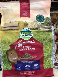 Oxbow Essentials Adult Rabbit Food 10 lbs (4.5kg) $25