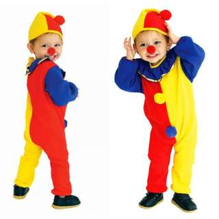 (Preorder) Kids Cosplay clown costume