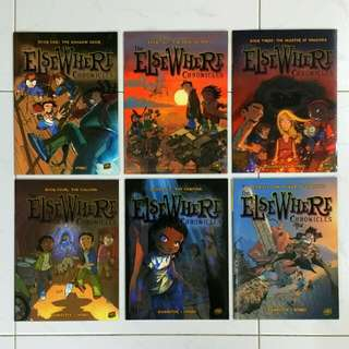 Elsewhere Chronicles Books 1-6 by Nykko & Bannister - 48 pages/book  (Children Fantasy Fiction Comic)
