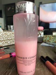 Lancome pink toner