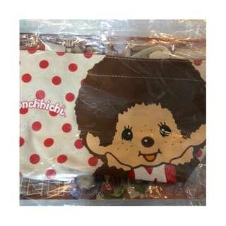 monchichi 別注版 lunch bag U Magazine 日系索繩 袋 午餐袋 帆布袋 633 期